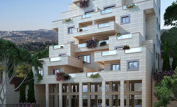 בנין מספר 5 נווה יעקב – דונה , דירות למכירה במרכז