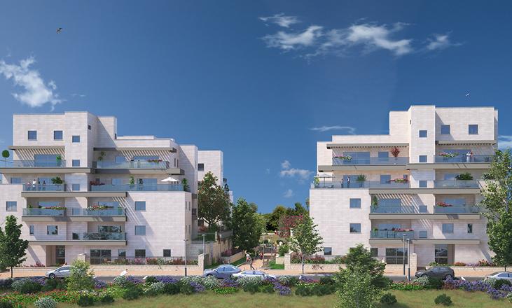 דונה בנופים , דירות חדשות למכירה במרכז