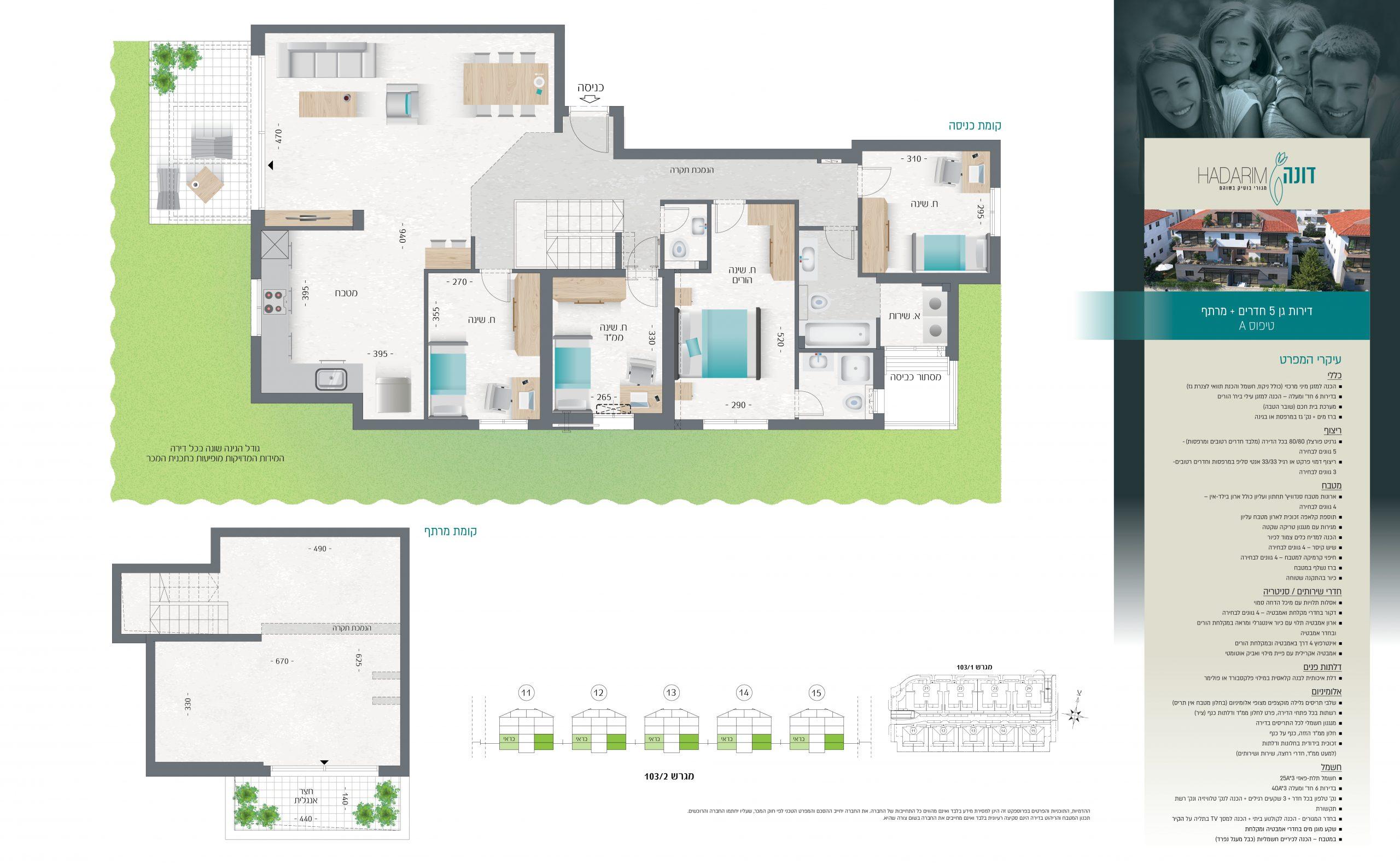 תכנית דירה נוספת דירות בשוהם , פרויקט הנדל
